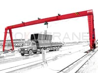 Single_Girder gantry crane